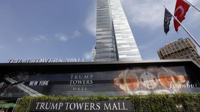 Trump Towers Mall is seen in Istanbul