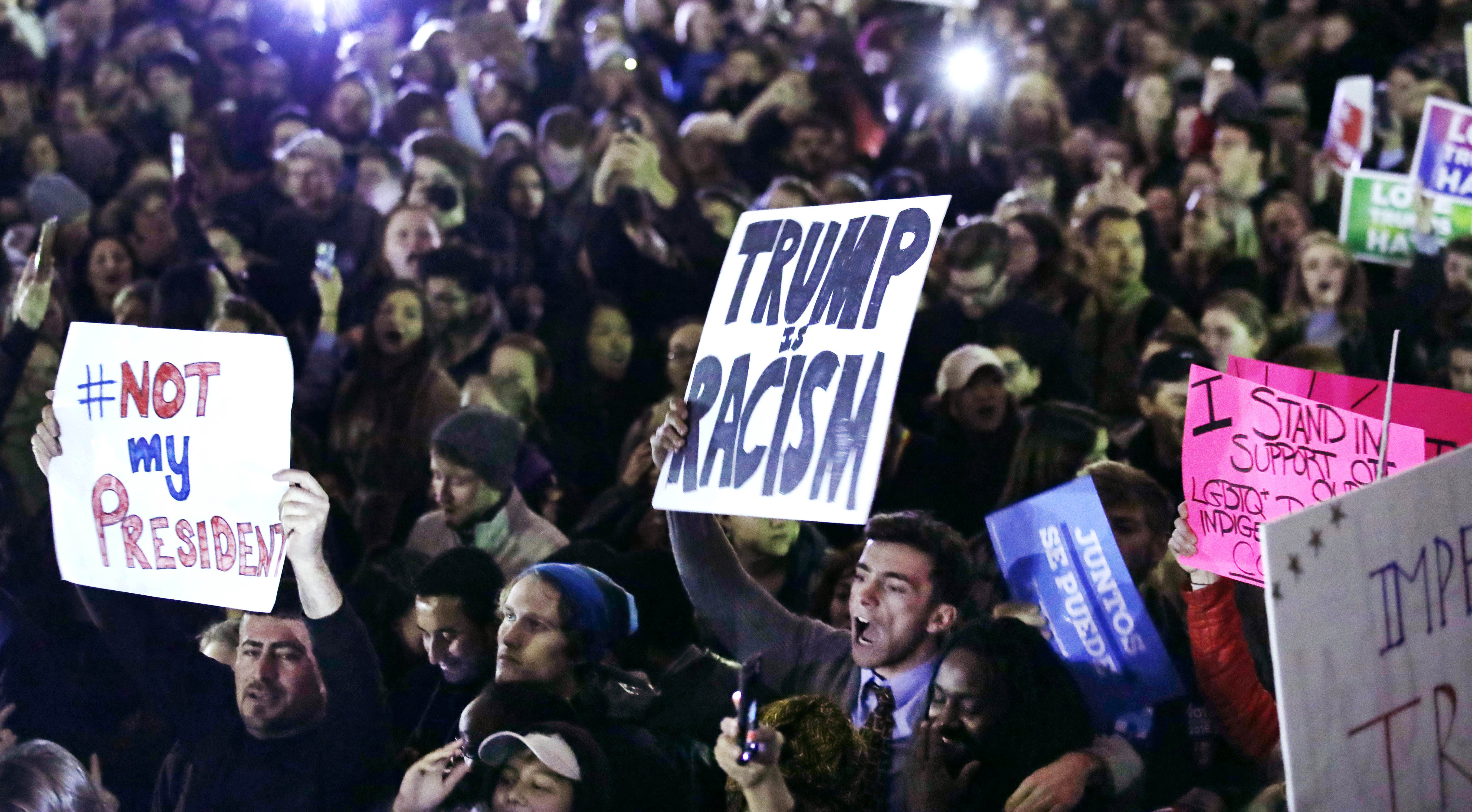 Election Protests Massachusetts