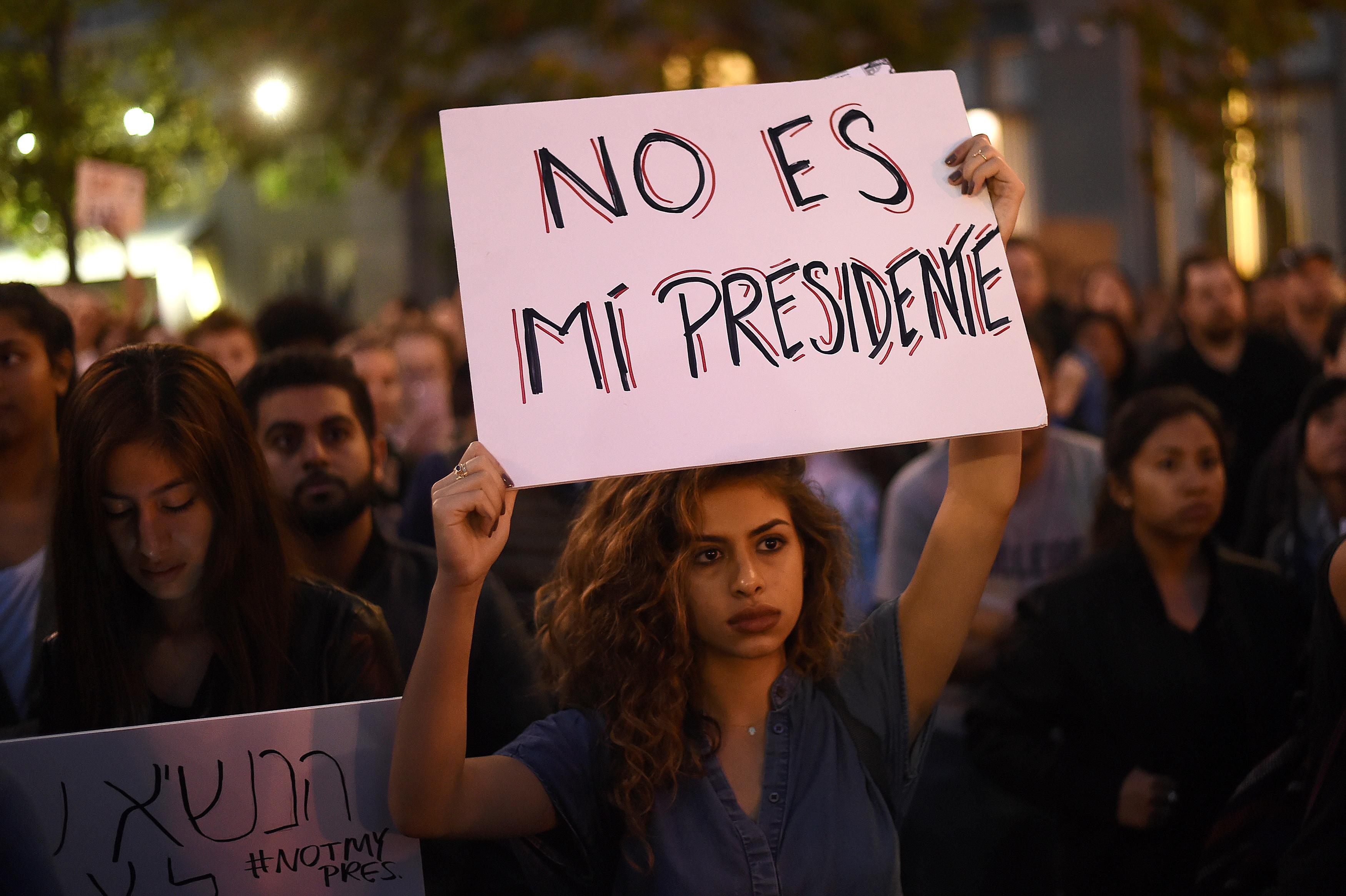 Oakland Trump Protest