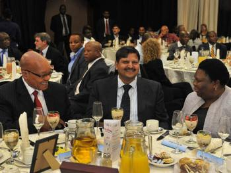 Atul Gupta, close friend of president Jacob Zuma, becomes richest black South African