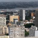 Buildings are seen in the Plateau district in Abidjan, Ivory Coast
