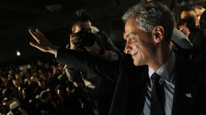 Chicago mayor Rahm Emanuel says urban environmentalism is here to stay