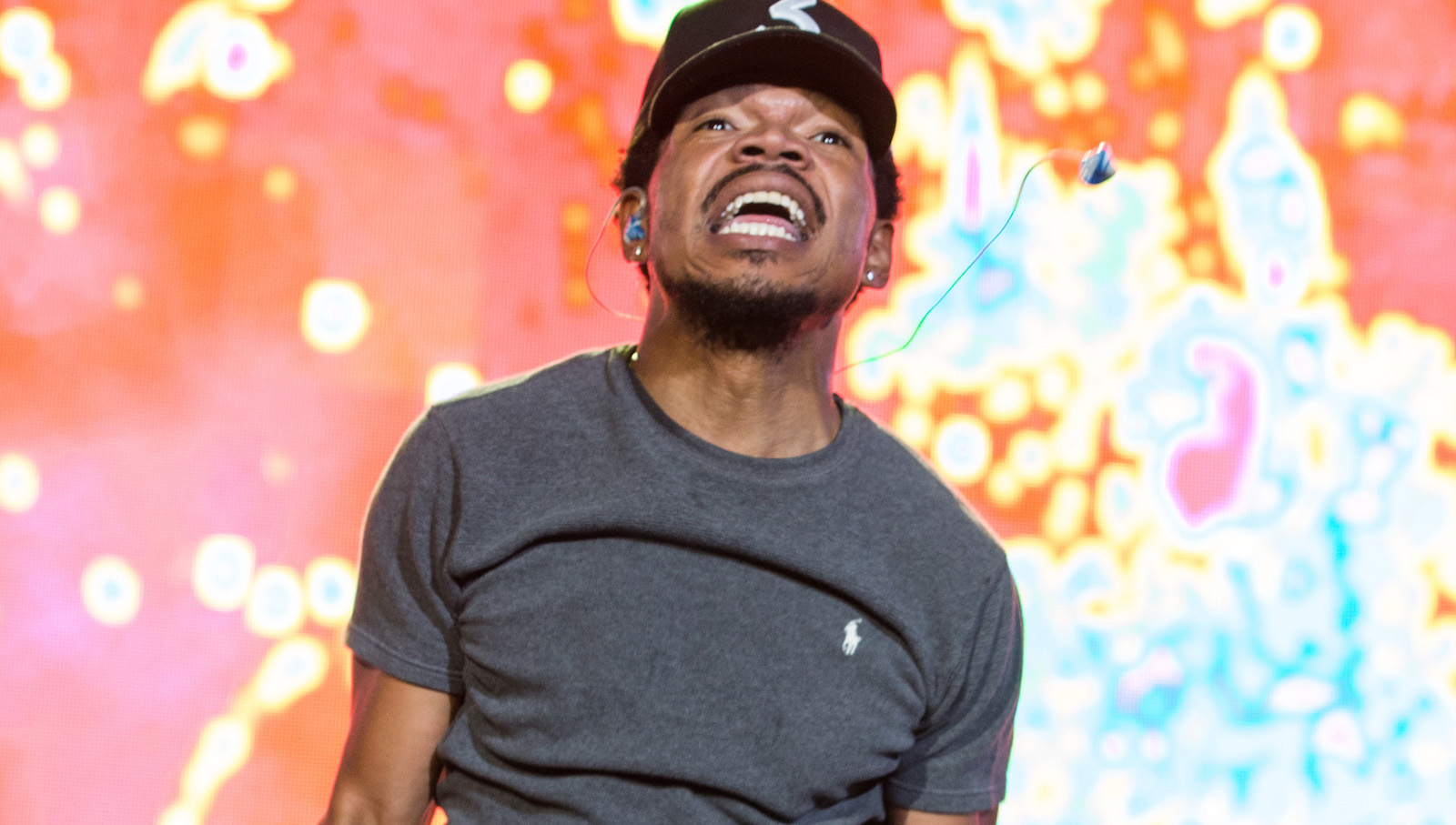 Chance The Rapper performs at The Budweiser Made In America Festival on Sunday, Sept. 4, 2016, in Philadelphia. (Photo by Michael Zorn/Invision/AP)