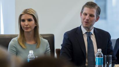 Eric and Ivanka attended a Tech Summit at Trump Tower