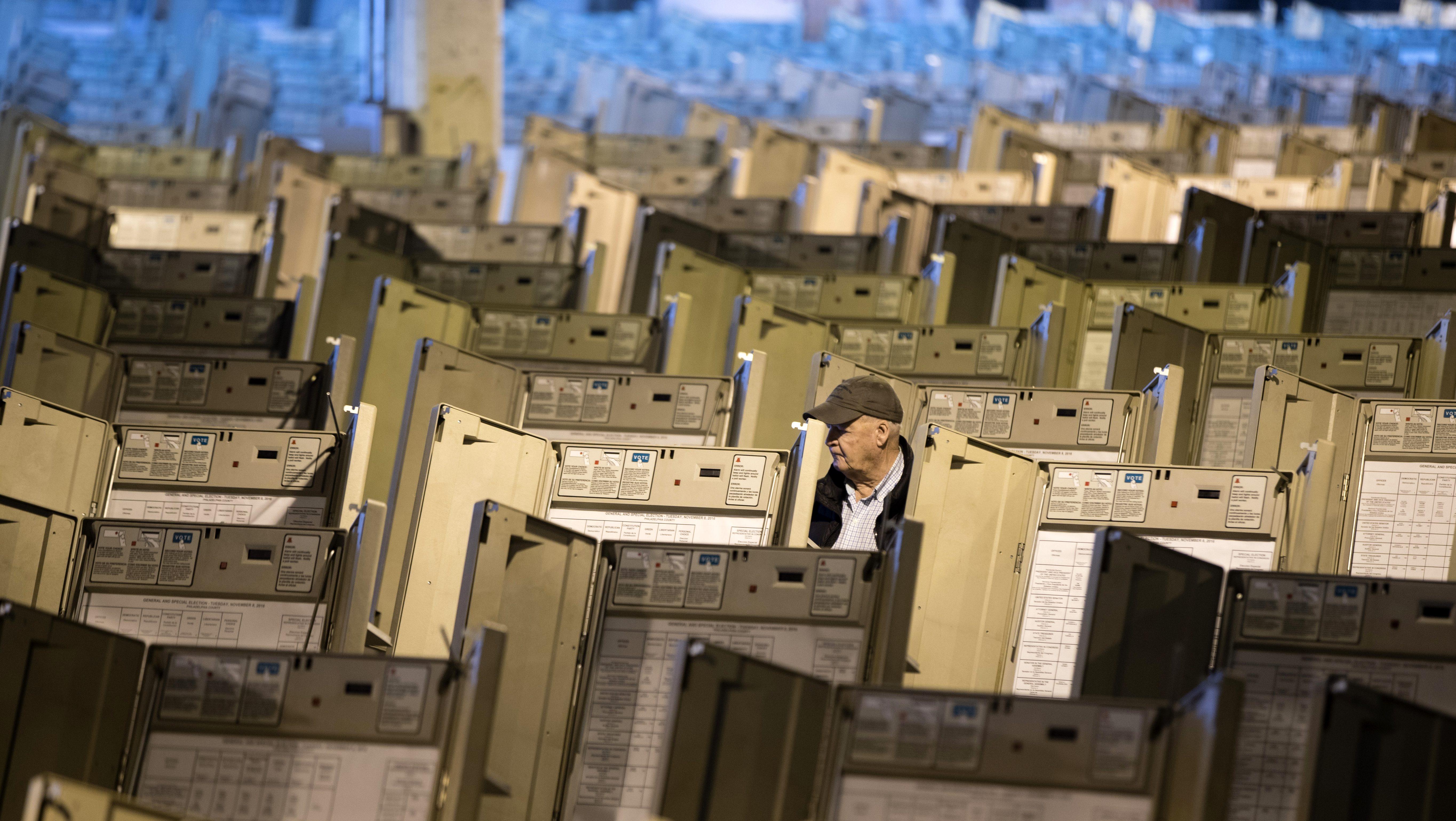 Voting Machines in Pennsylvania