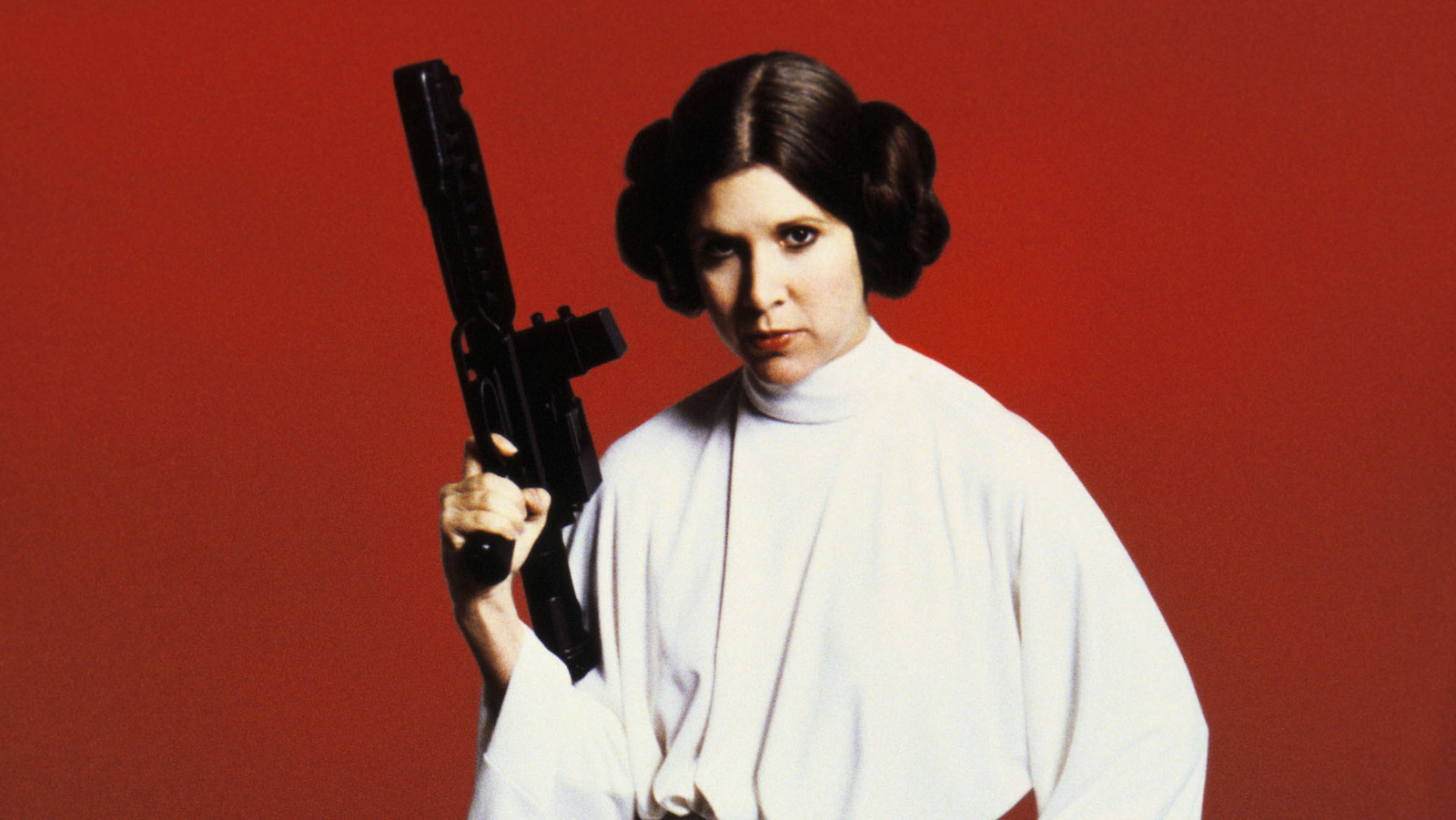 Carrie Fisher as Princess Leia Organa Star Wars (1977) *Filmstill - Editorial Use Only* CAP/PLF/MediaPunch/IPX