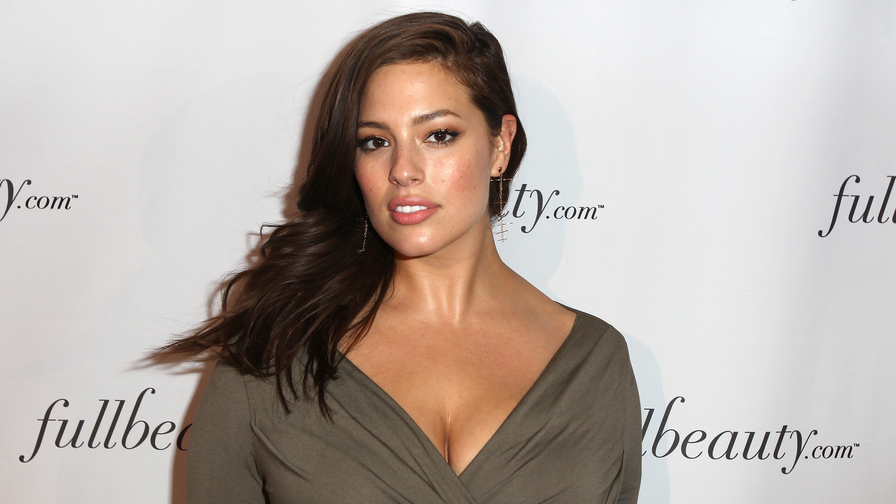 Ashley Graham attends the FULLBEAUTY Brands re-launching event of fullbeauty.com at Guastavino's on Thursday, April 2, 2015, in New York. (Photo by Donald Traill/Invision/AP)