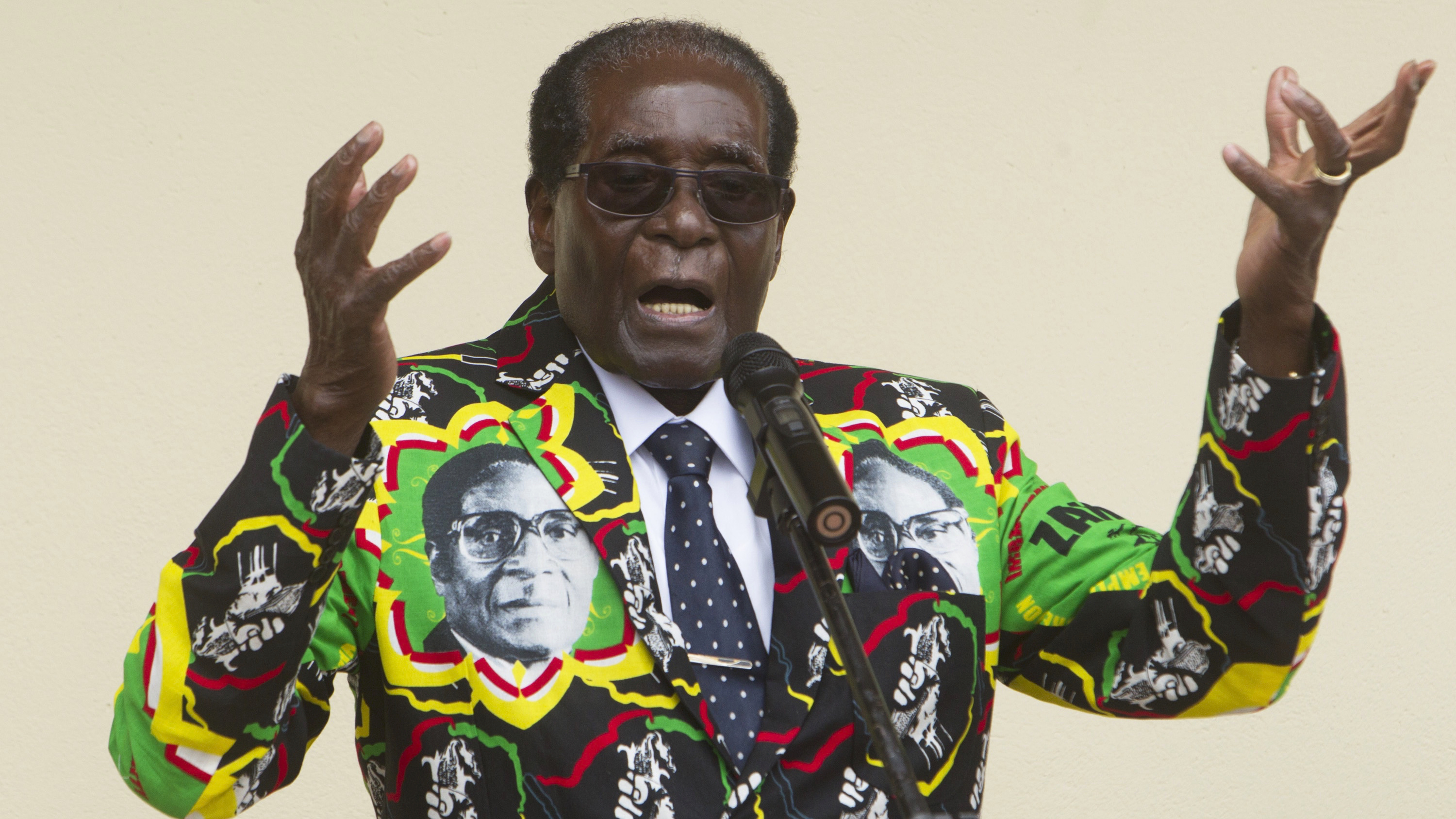 Zanu-PF endorses Robert Mugabe as it's presidential candidate for Zimbabwe's 2018 election
