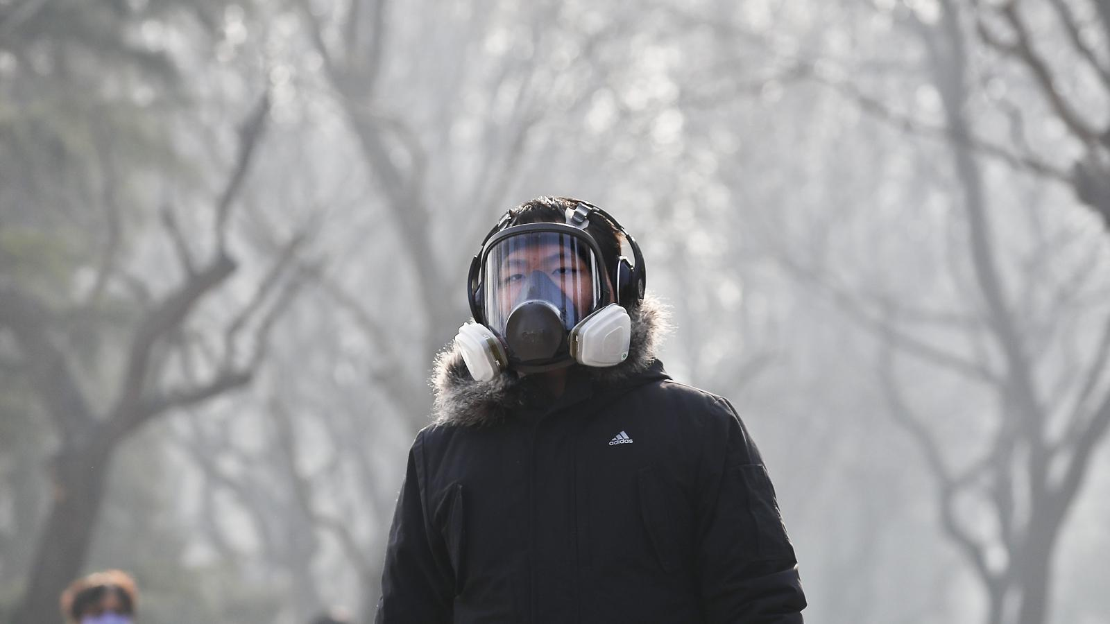 Photos: The smog that's choking Beijing as it faces the worst pollution of  2016 — Quartz