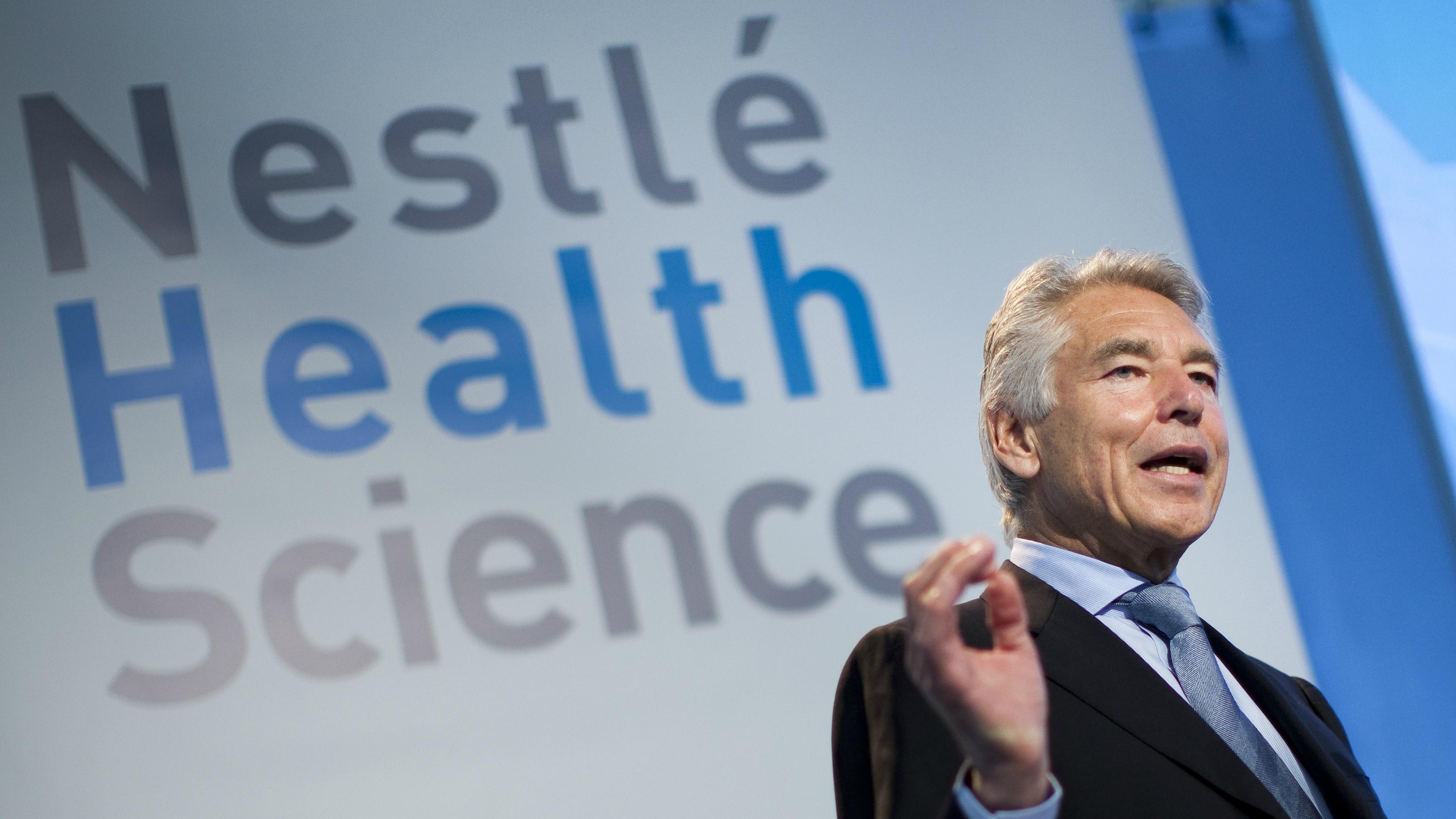 Nestlé chairman Peter Brabeck-Letmathe
