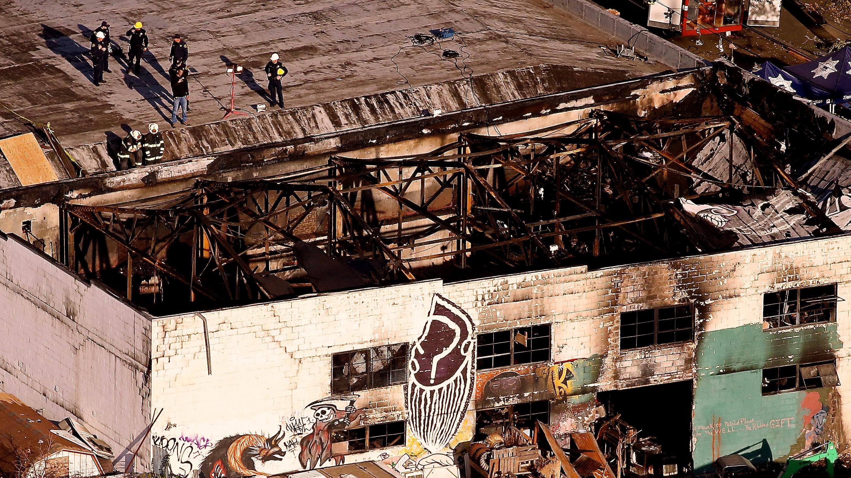 Oakland warehouse fire, Ghost Ship