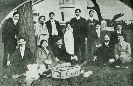 Indian staff and students at Cambridge University