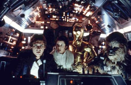 """On the set of """"The Empire Strikes Back"""""""