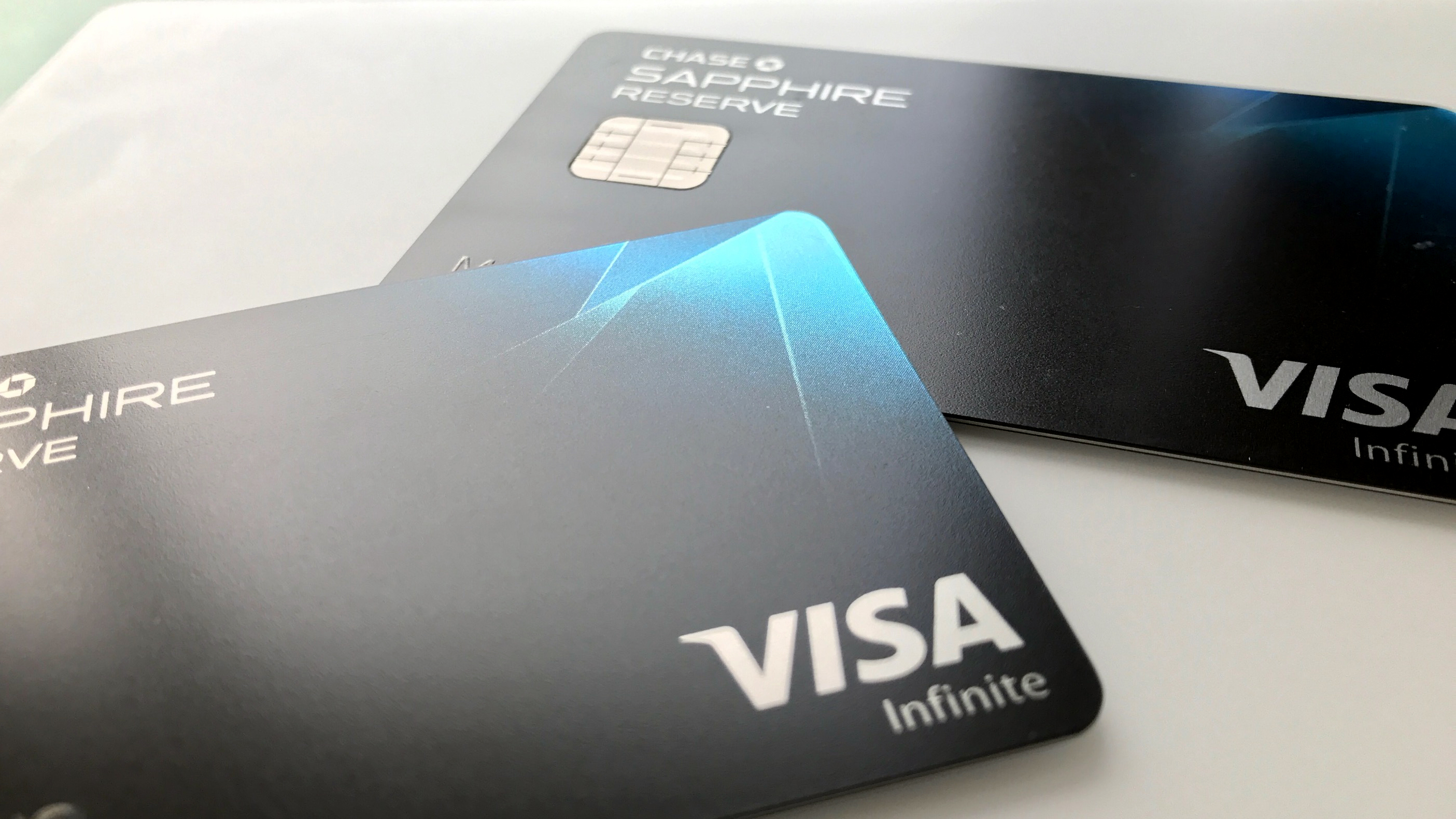 The Chase Sapphire Reserve credit card from JPMorgan Chase