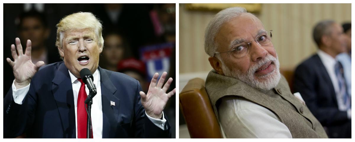 Donald Trump-Narendra Modi-Nationalism-India-US