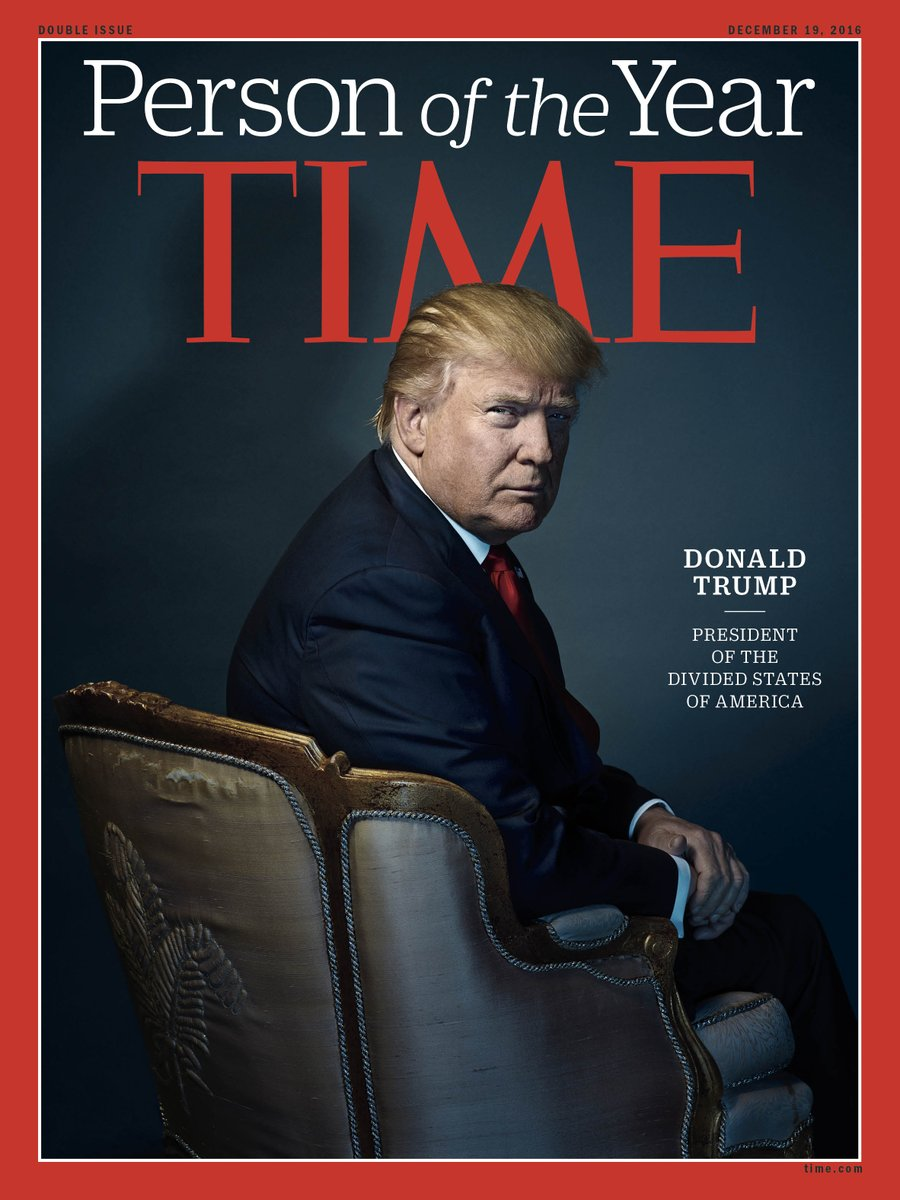 Trump Time's Person of the Year Cover