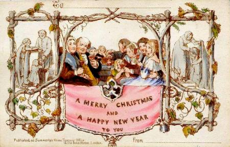 The History Of Christmas Greeting Cards From The Victorian Britain To The Internet Quartz