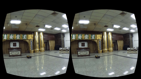 The Chinese funeral house through VR technology developed by a Hong Kong startup Sunshine Interactive.