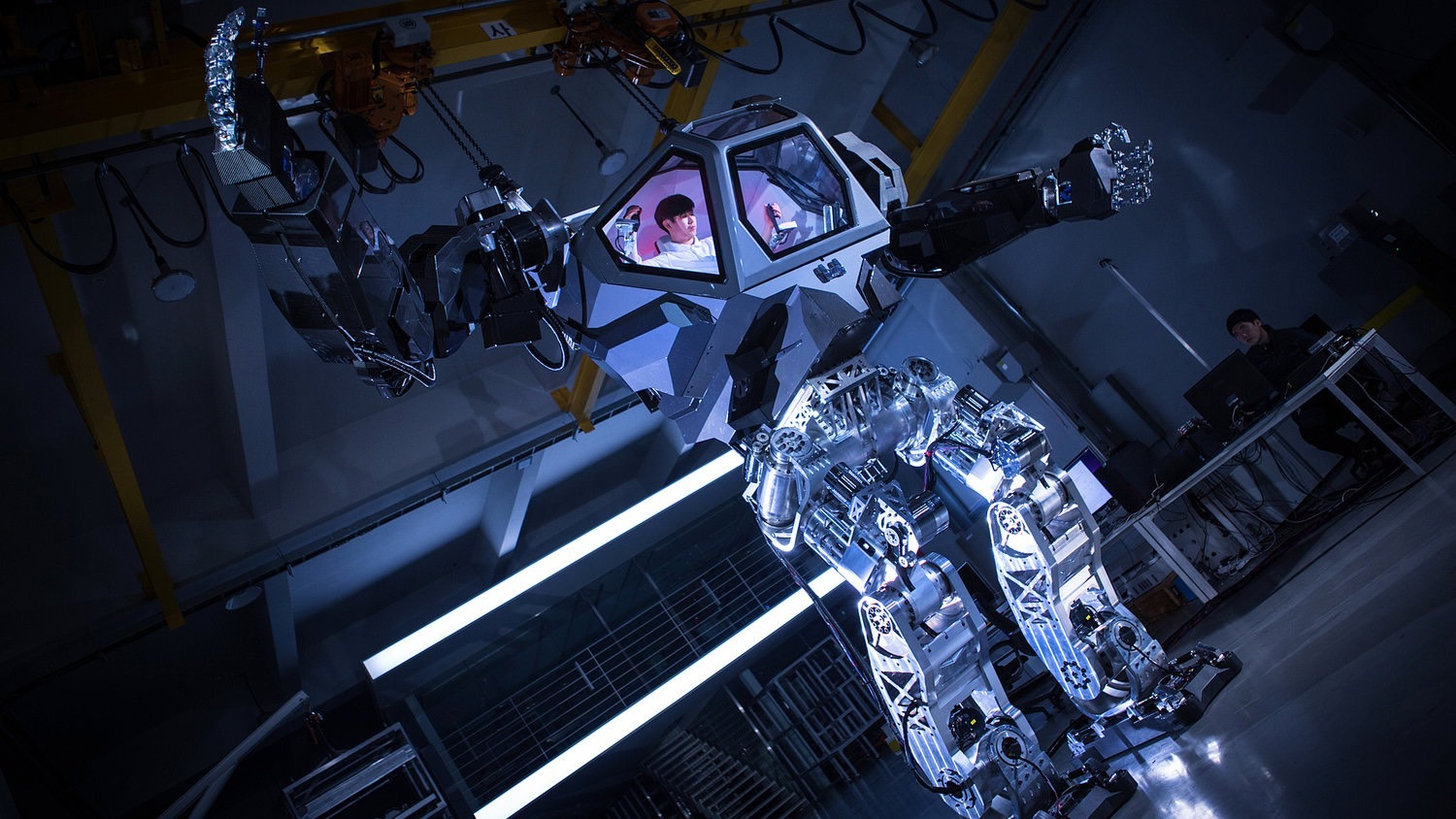 Hankook Mirae Technology Built A 13 Foot Avatar Like Manned Robot Called The Method 2 Quartz