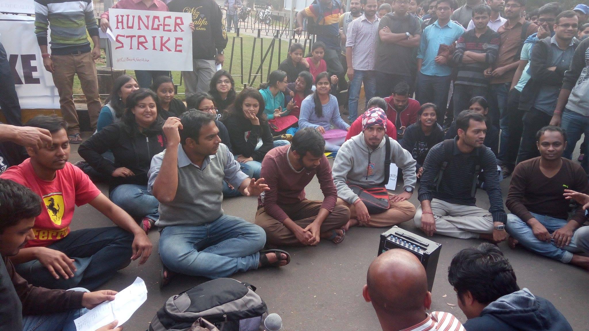 IIT Kharagpur hunger strike