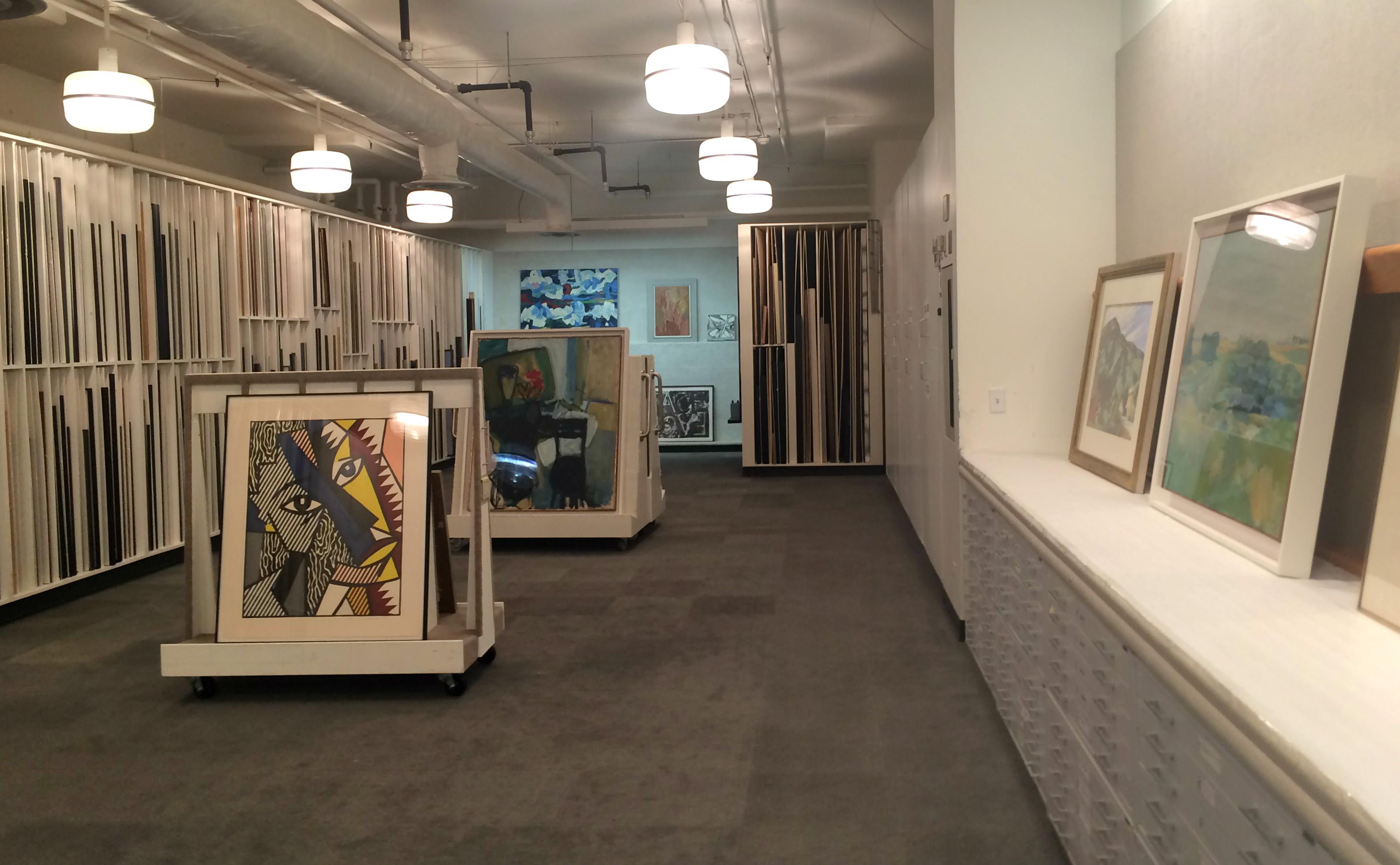 The Hallmark art vault.