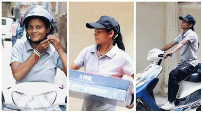 India-women-delivery-startup