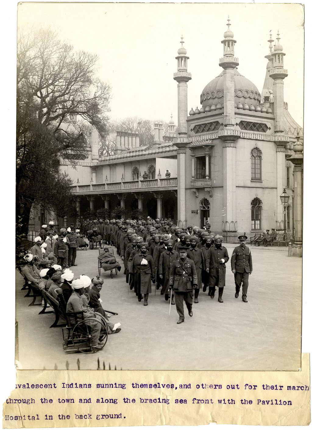 India-History-England-World-war