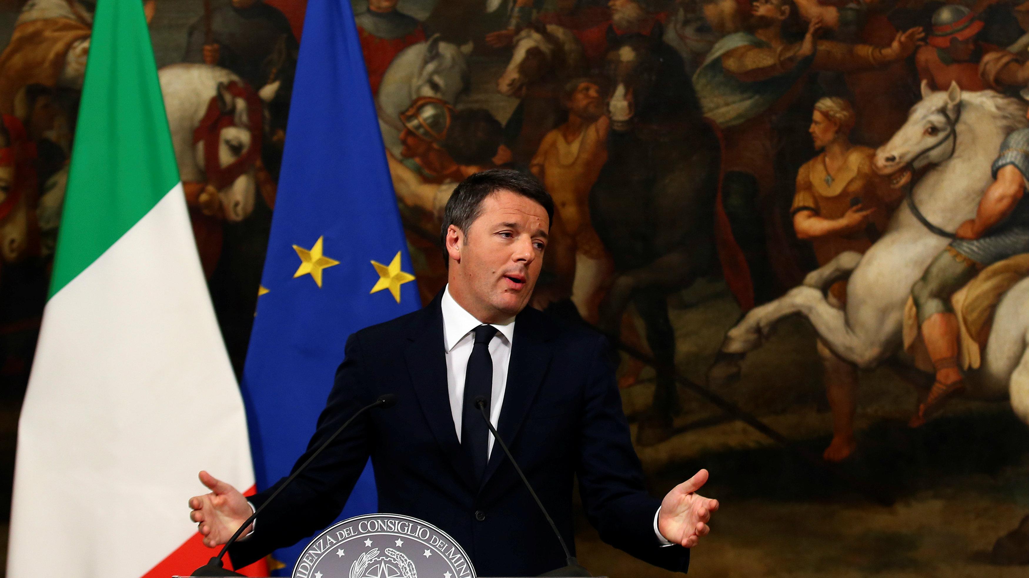 Matteo Renzi resigns as Italian prime minister