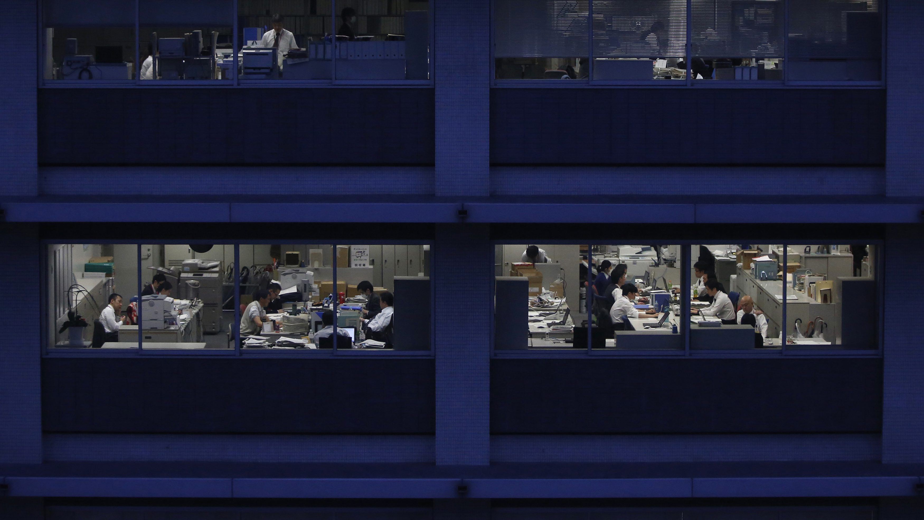 In Japan, death-by-overwork has its own word: kanoshi