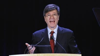 Columbia University professor Jeffrey Sachs