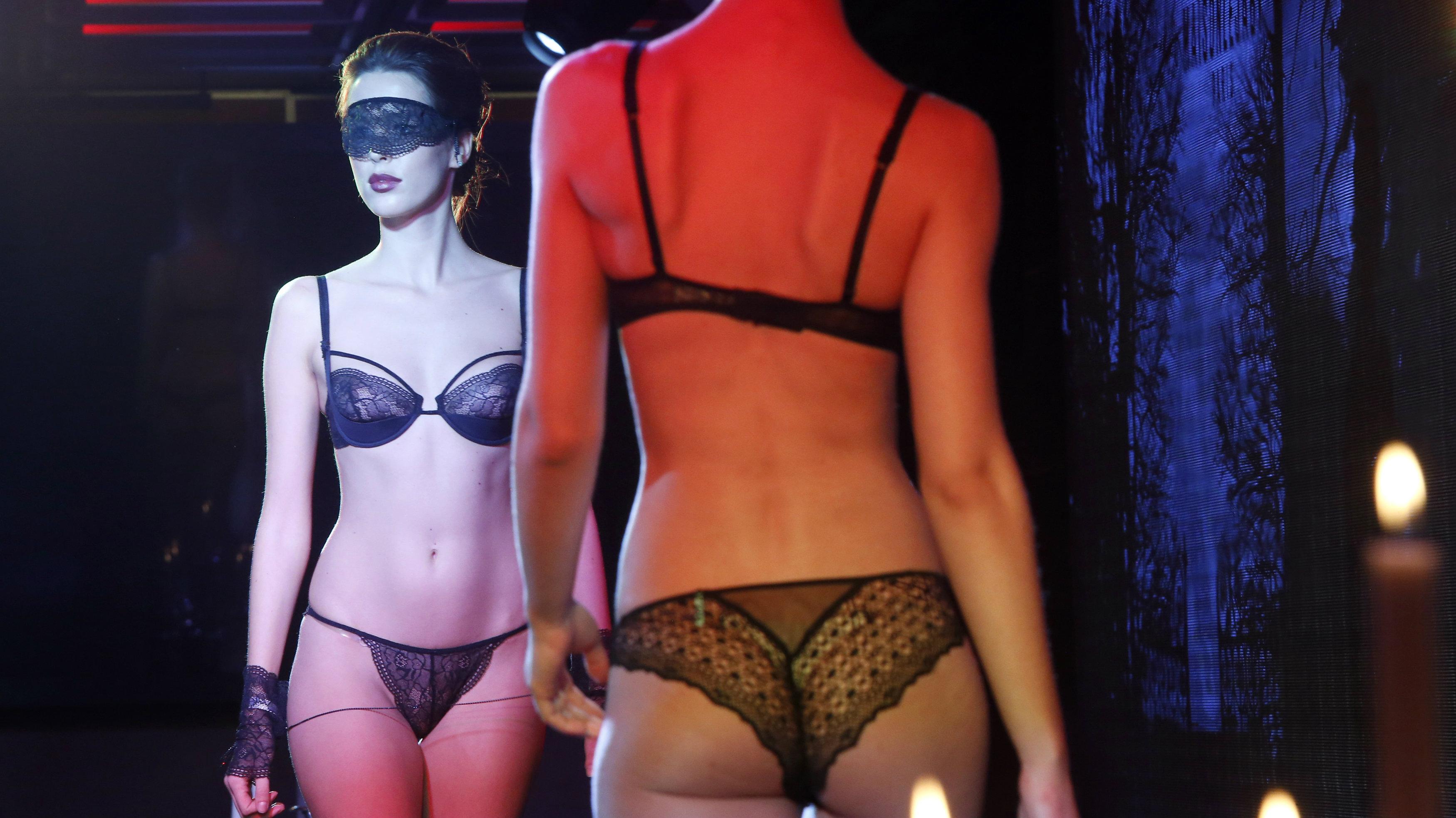 lingerie model