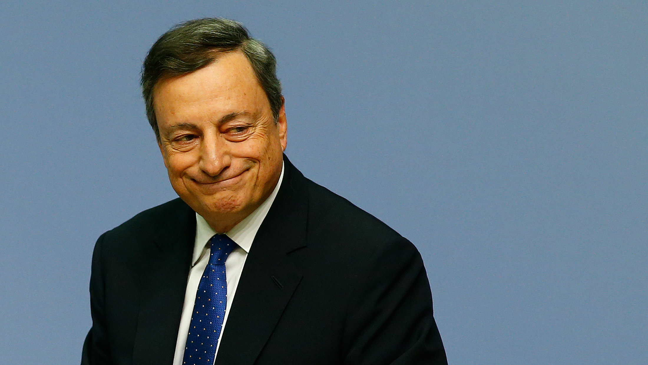 EB President Mario Draghi after December policy meeting