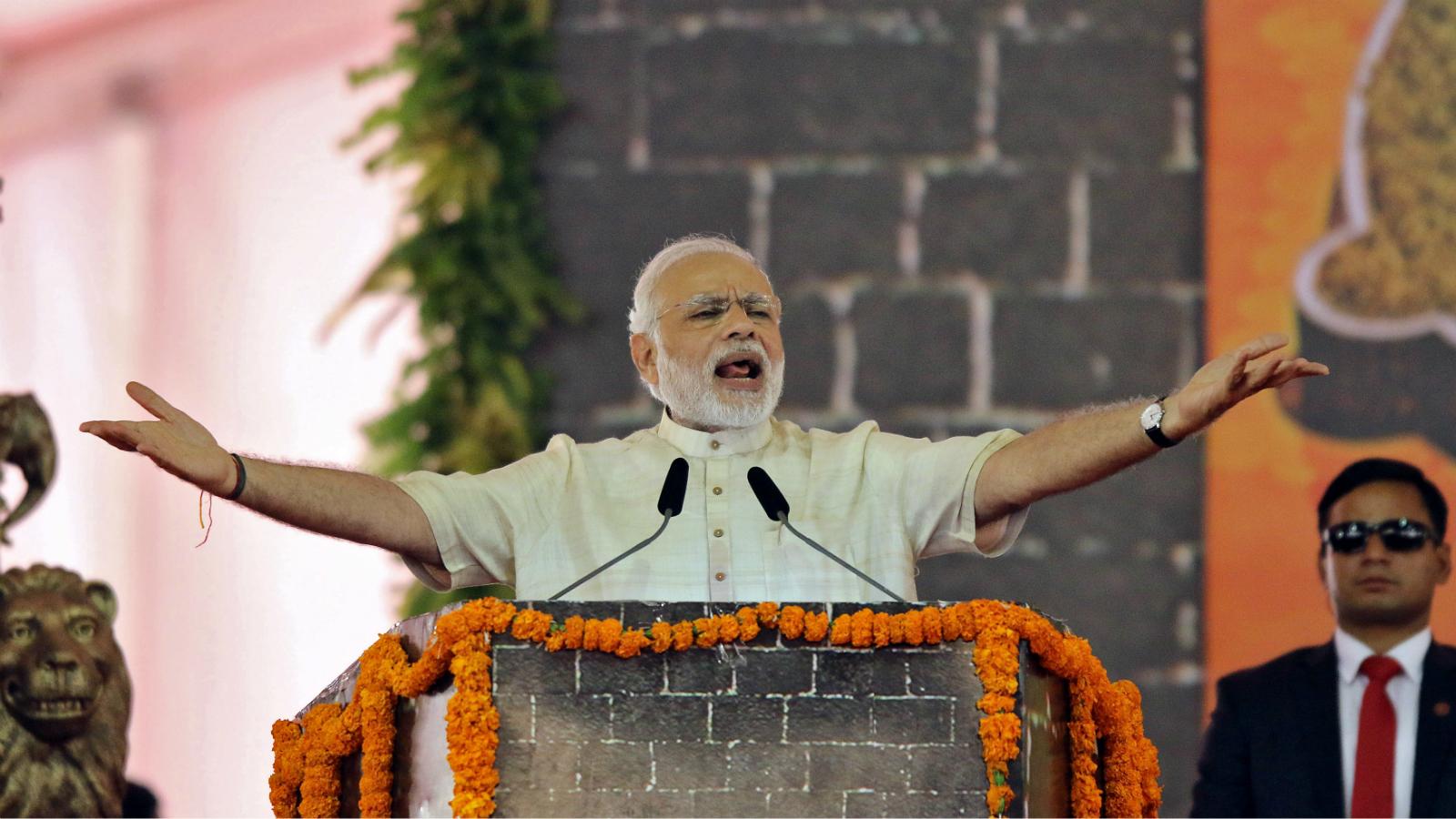 Modi-New Years eve-Speech-Prime minister