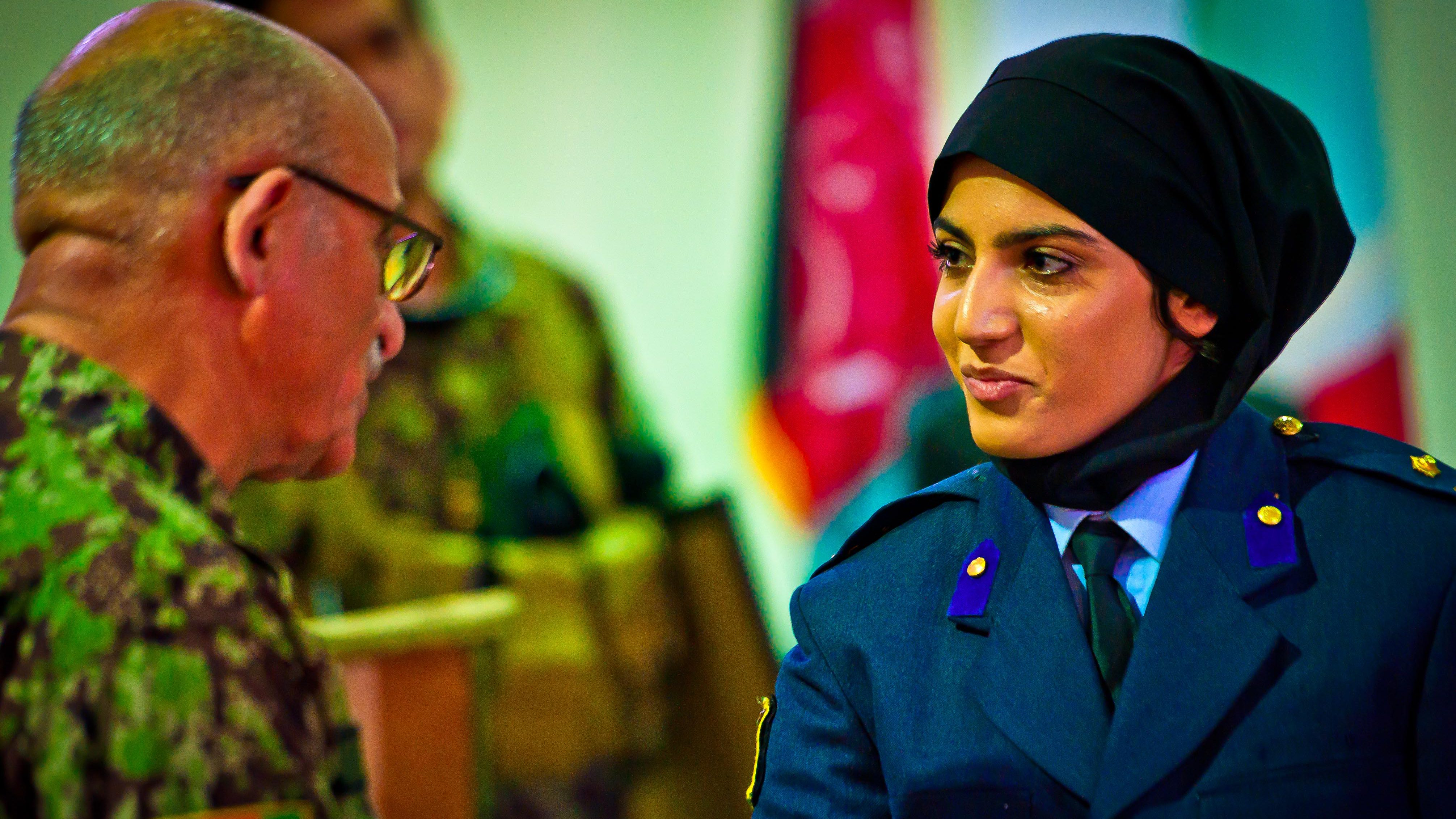 Sky's the limit: First female Afghan graduates pilot training