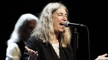 Patti Smith performs in Denmark