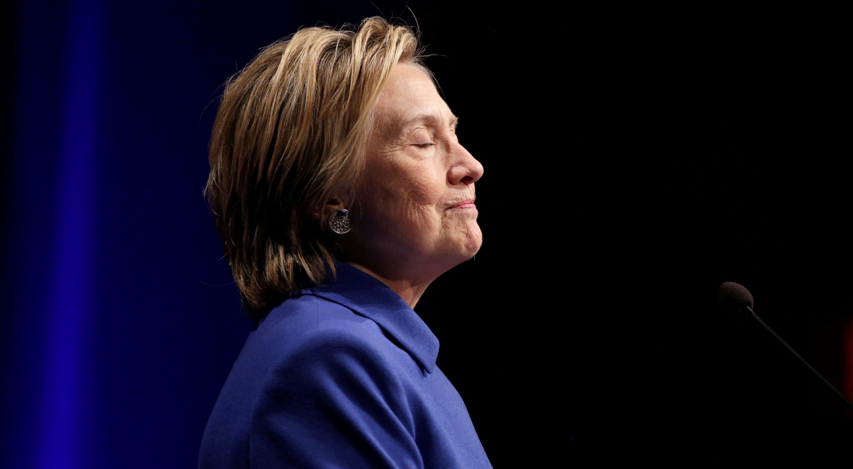 Hillary Clinton speaks to the Children's Defense Fund in Washington, U.S., November 16, 2016. REUTERS/Joshua Roberts - RTX2U1G4