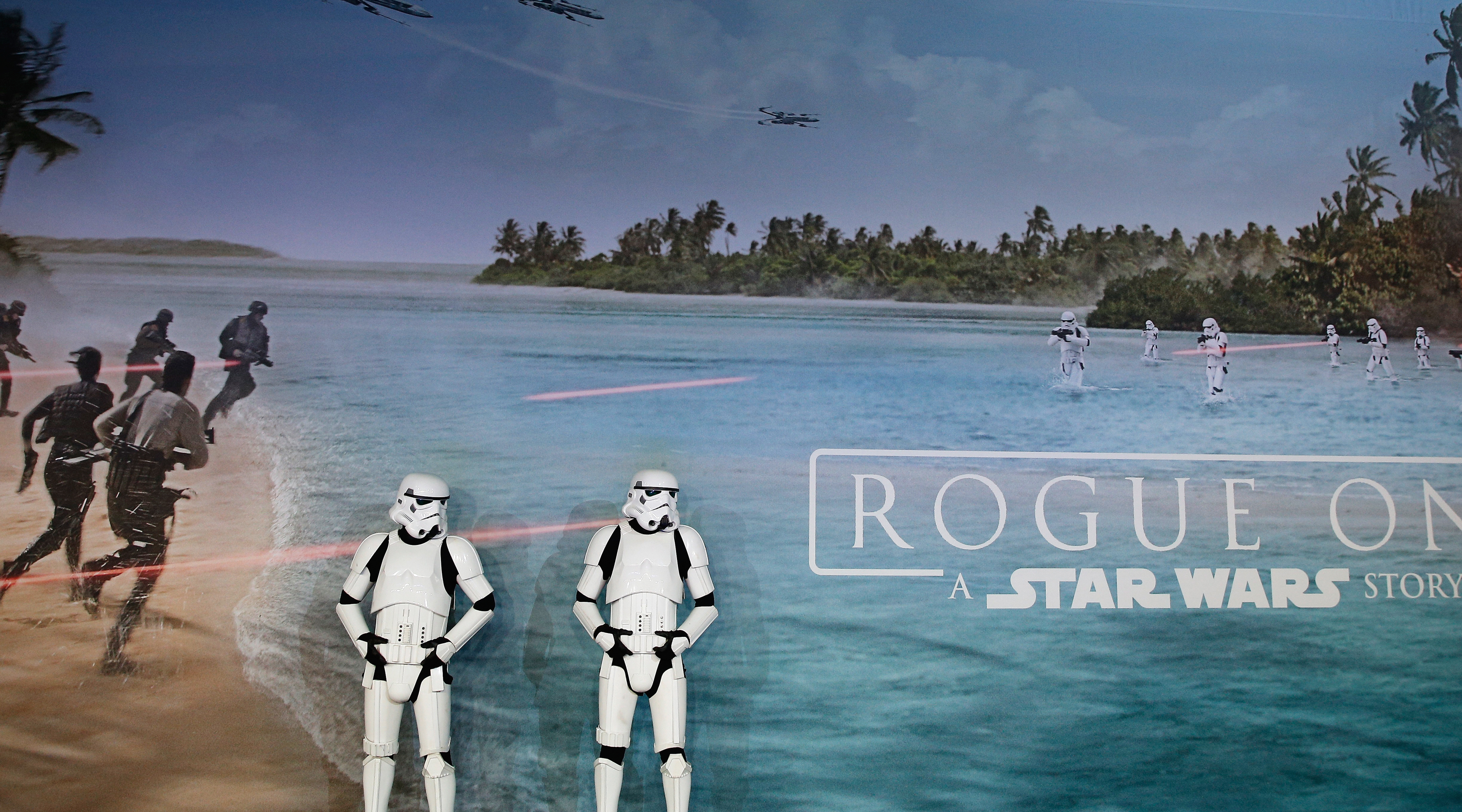 European Premiere of Star Wars Rogue One