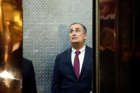 CEO at Intel Brian Krzanich enters Trump Tower ahead of a meeting of technology leaders with President-elect Donald Trump in Manhattan, New York City, U.S., December 14, 2016. REUTERS/Andrew Kelly - RTX2V2X2