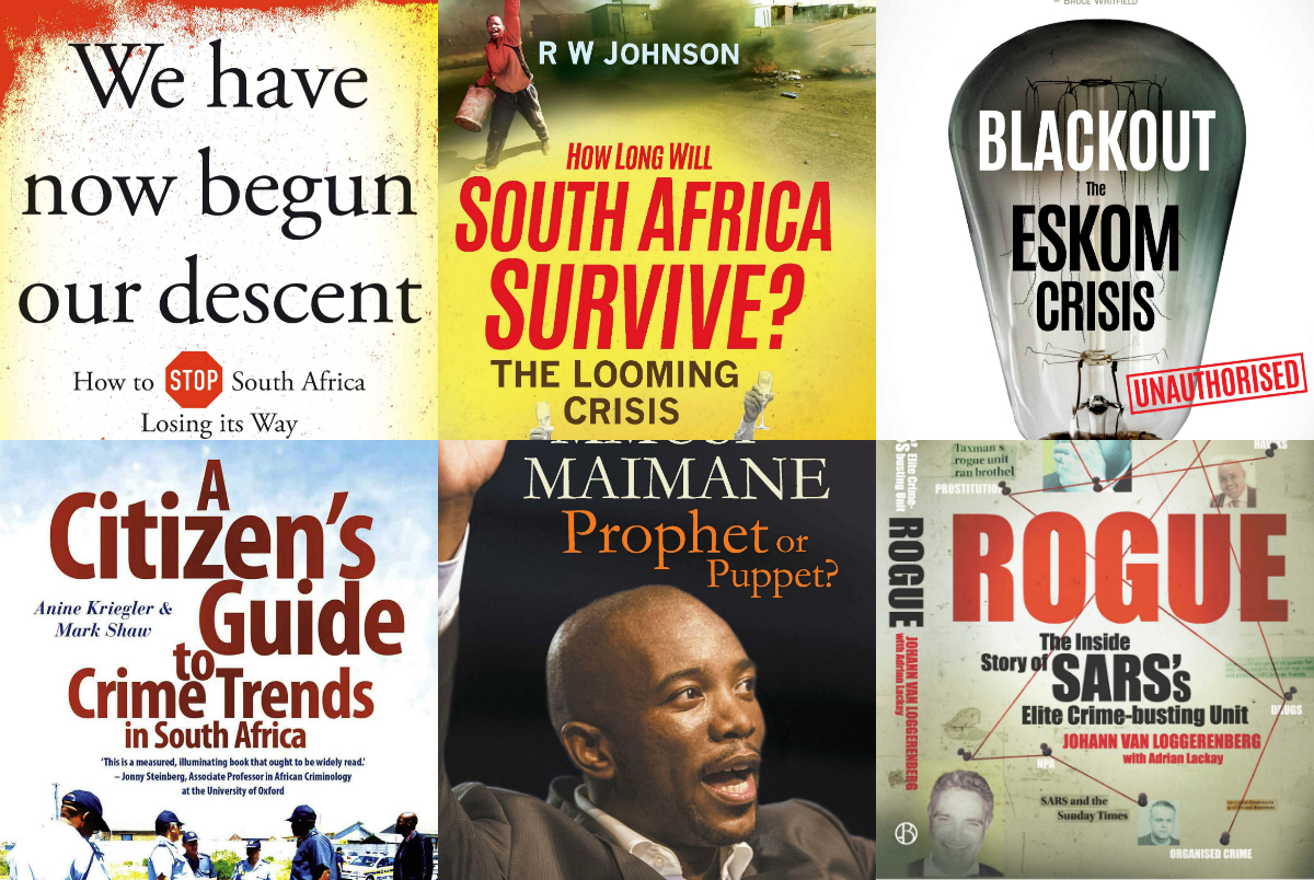 South Africa's non-fiction book sales thrive on making sense of political chaos