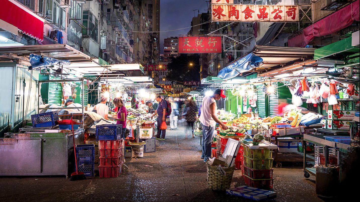 Ghost In The Shell Inspired Images Of The Old Hong Kong That