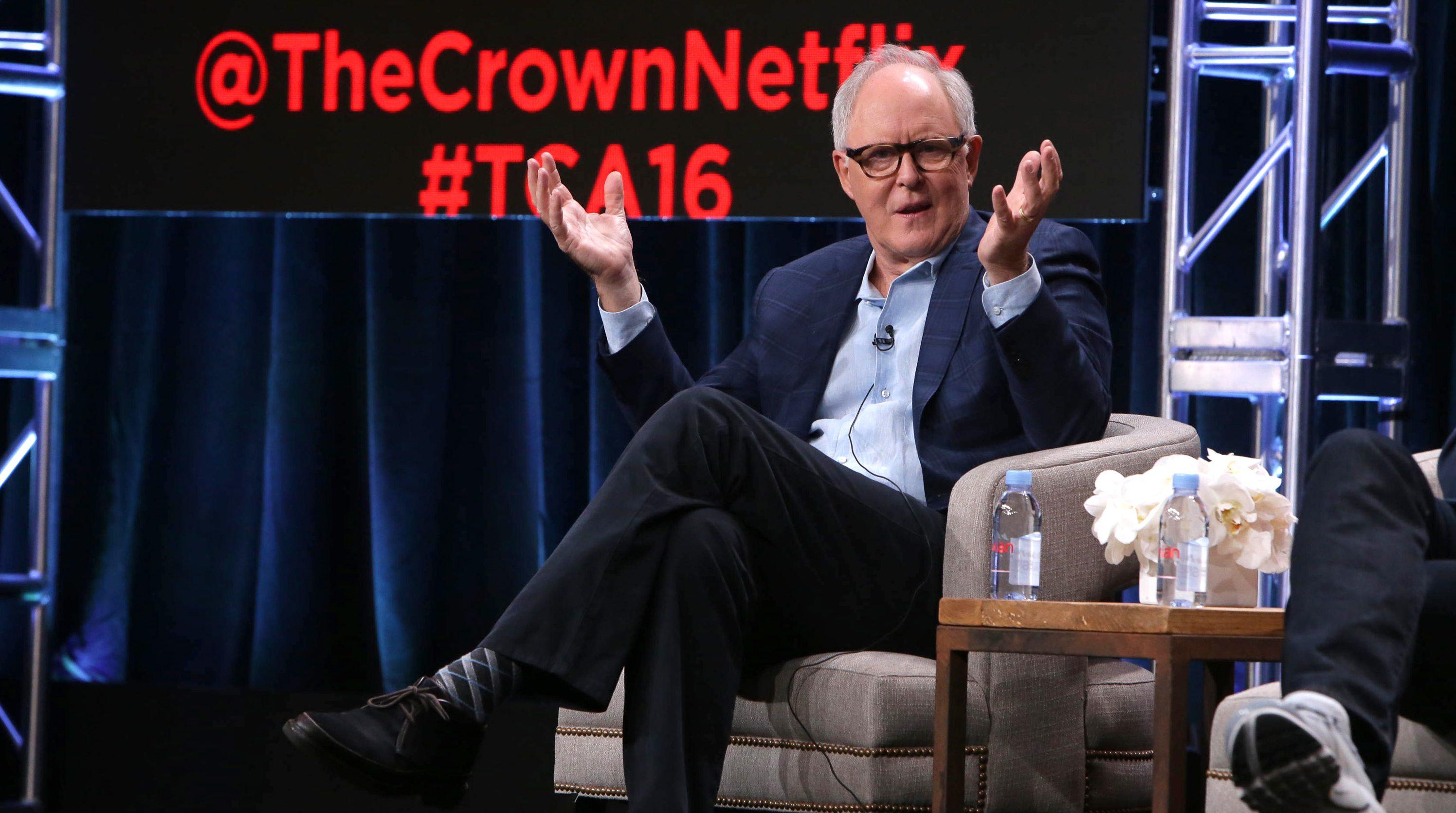 "Netflix's ""The Crown,"" John Lithgow"