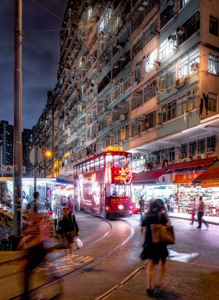 """An image from photographer Andy Yeung's """"Remember Hong Kong"""" series"""
