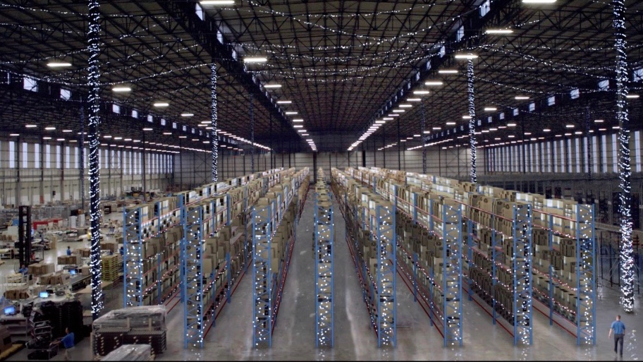 An image of South African online retailer TakeAlot.com's warehouse. Supplied.