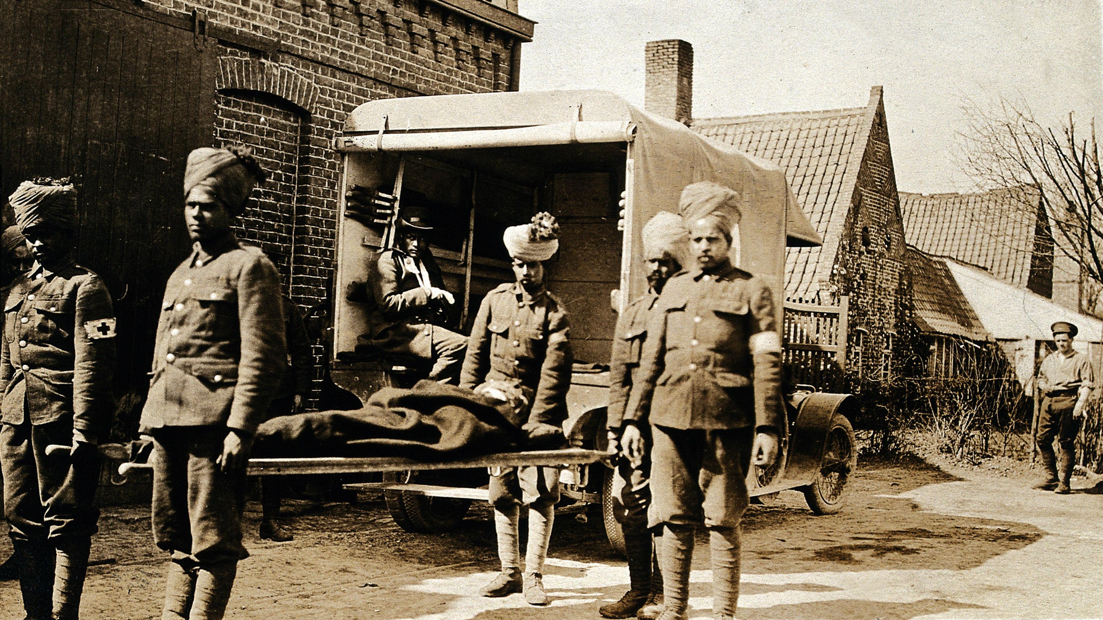 India-England-history-First-World-War