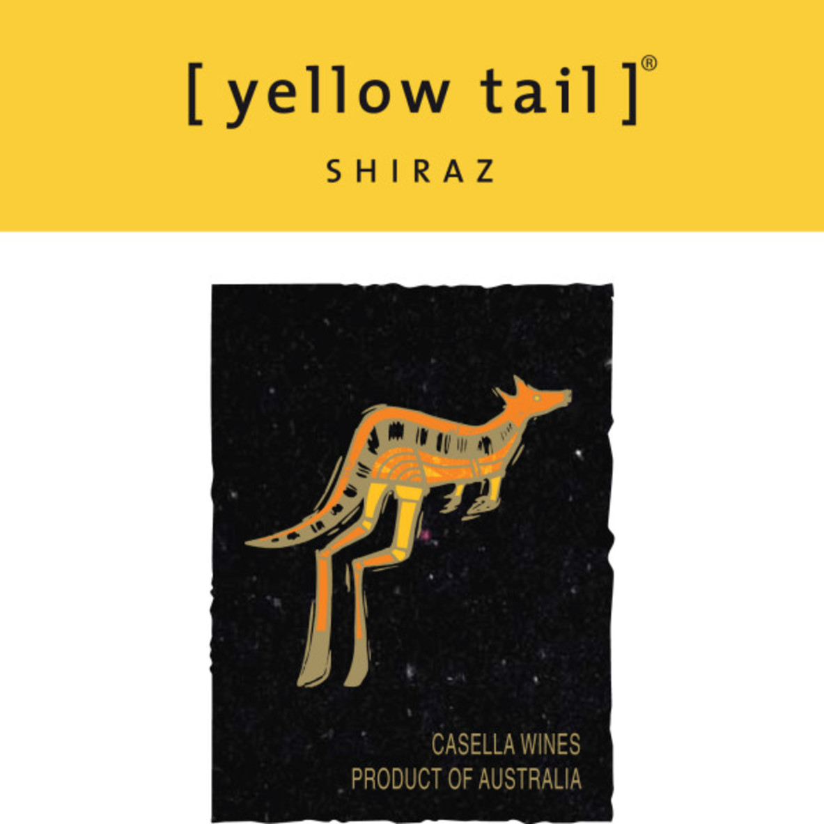 Yellow Tail label
