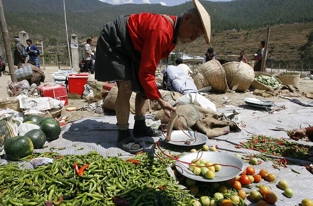 Bhutan-vegetables-chilli-India