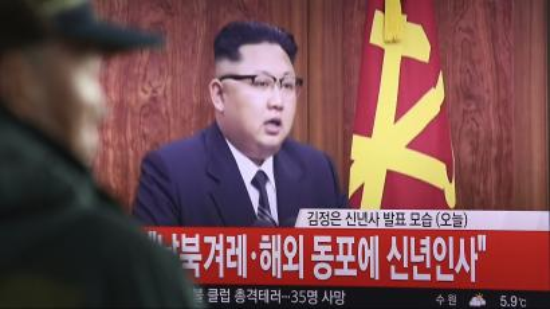 Kim Jong-Un delivers New Year's speech
