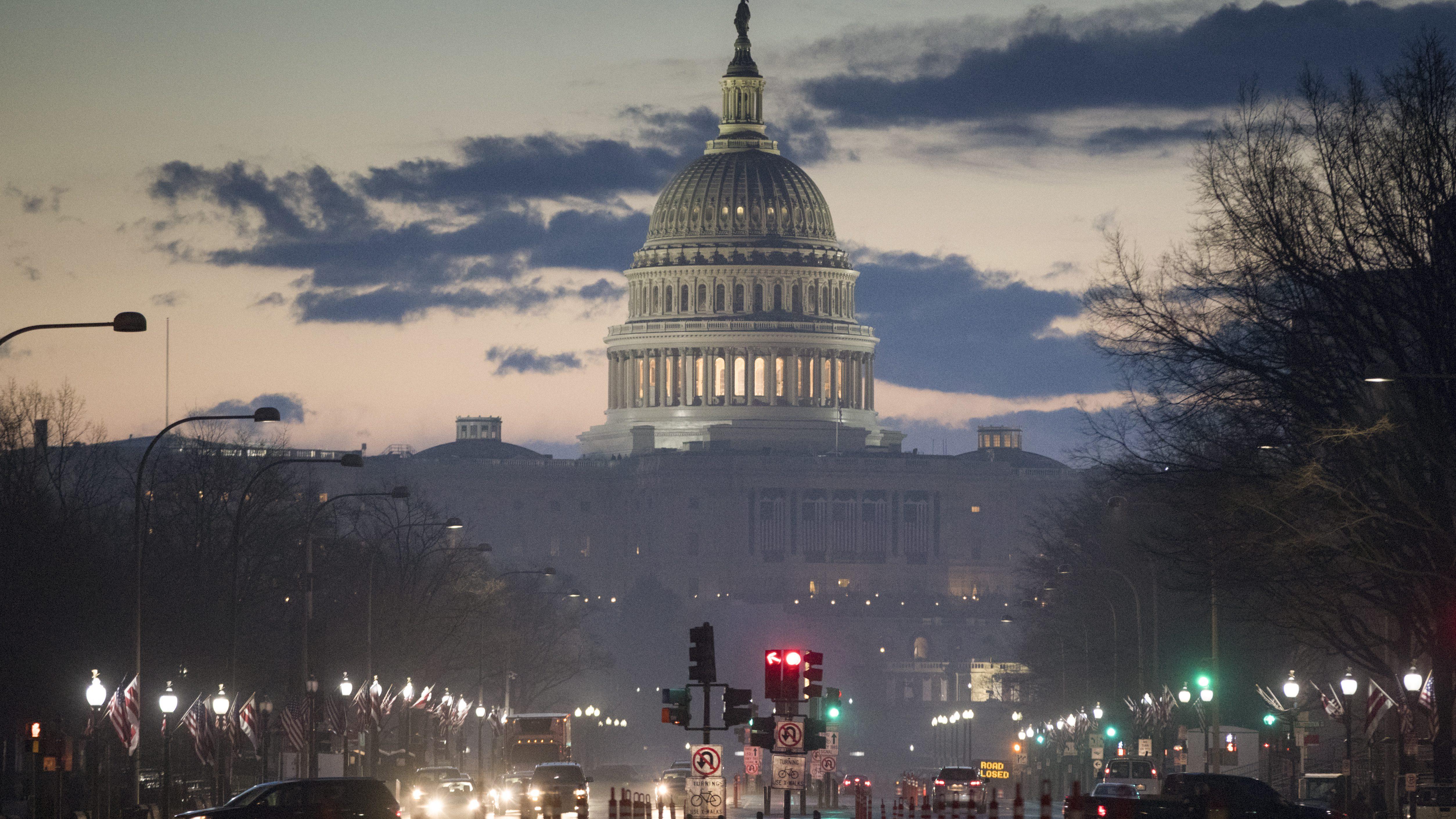 Trump Capitol Hill inauguration