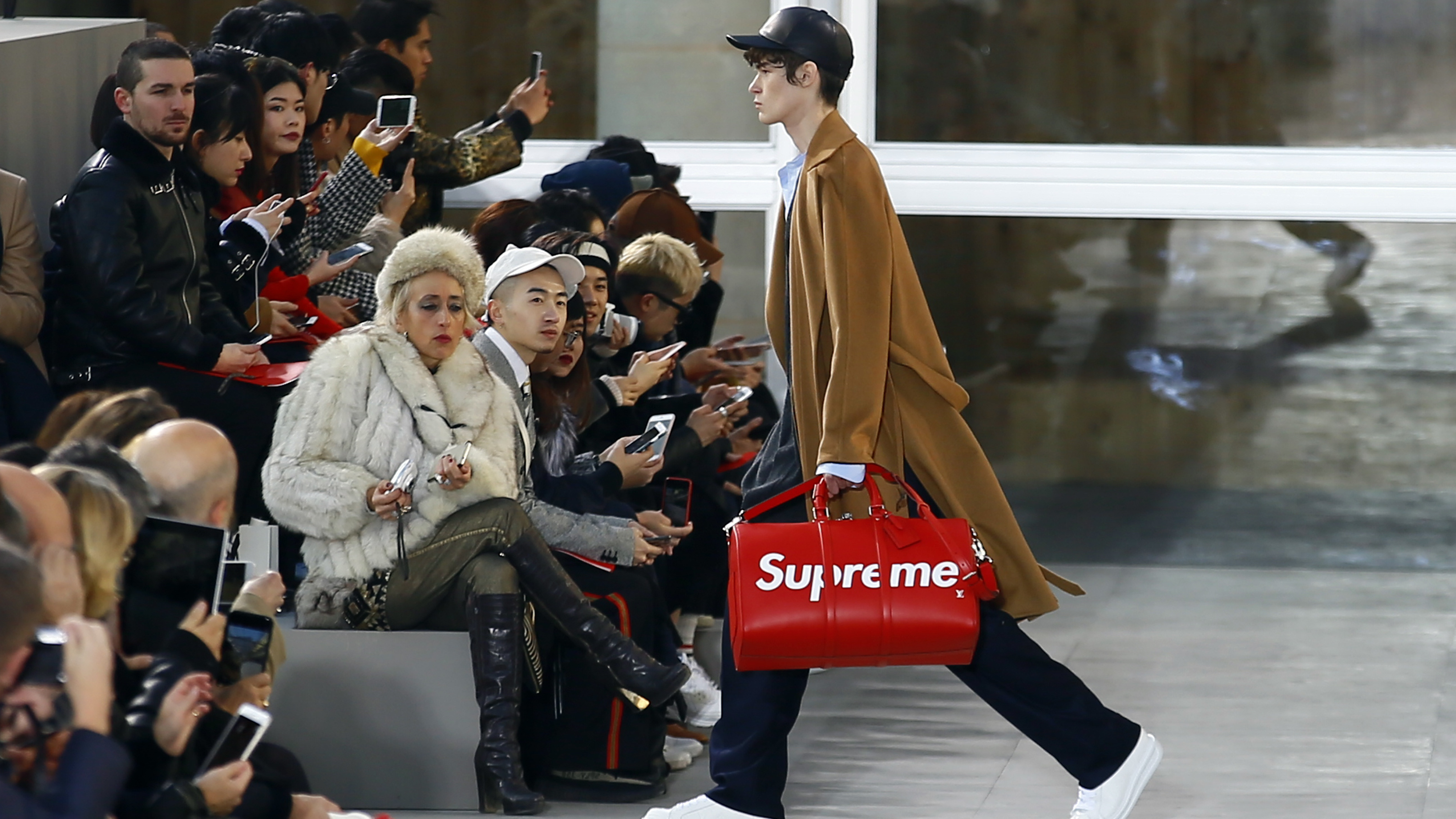 9f1ad243c8f1 Louis Vuitton once sued Supreme for stealing its logo. Now it s borrowing  the streetwear label s logo