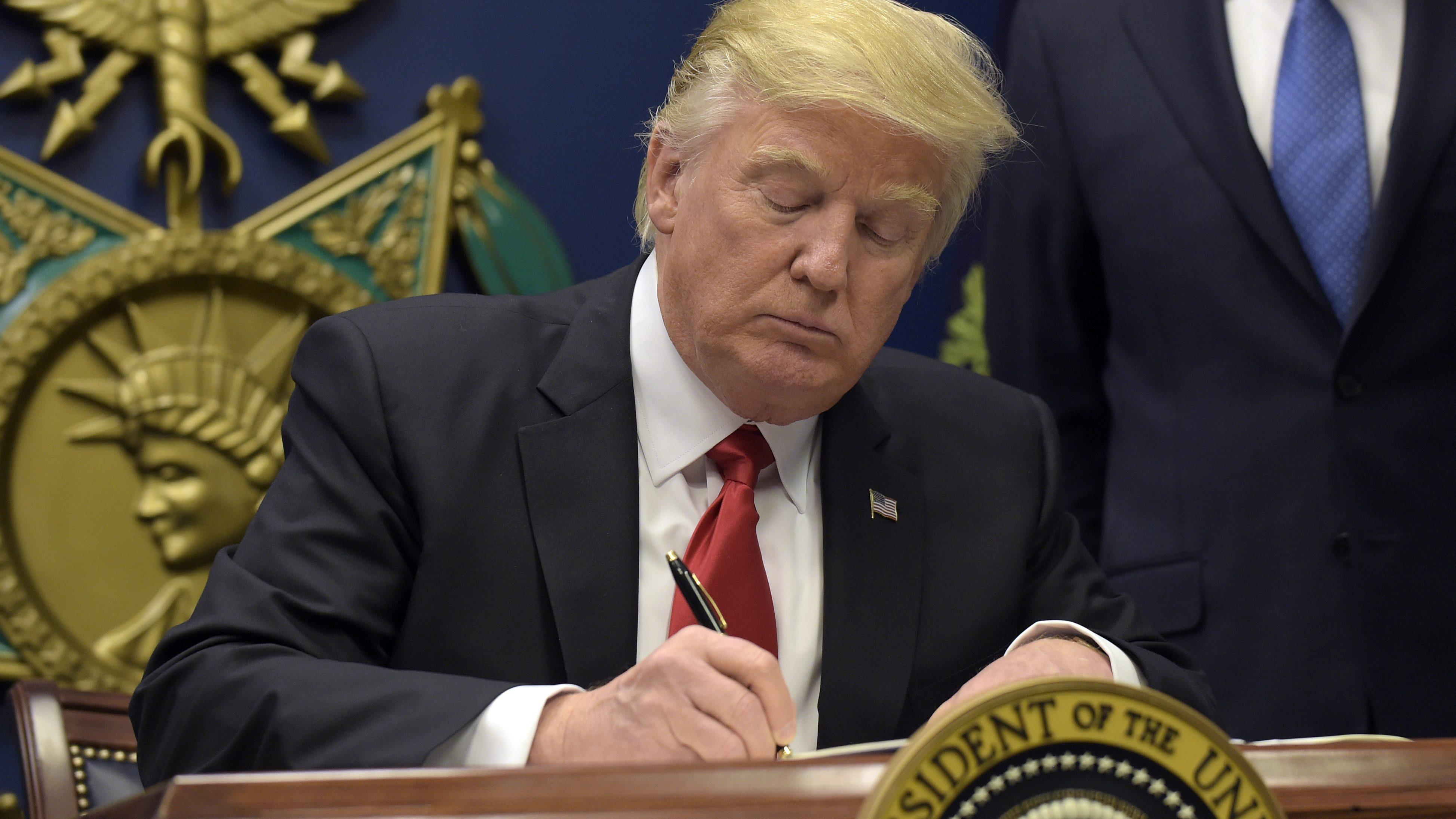 Trump is suspending the Visa Interview Waiver Program  — Quartz